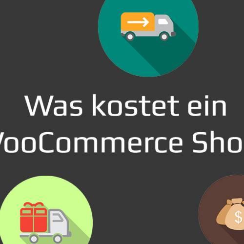 Was kostet ein Woocommerce Shop?